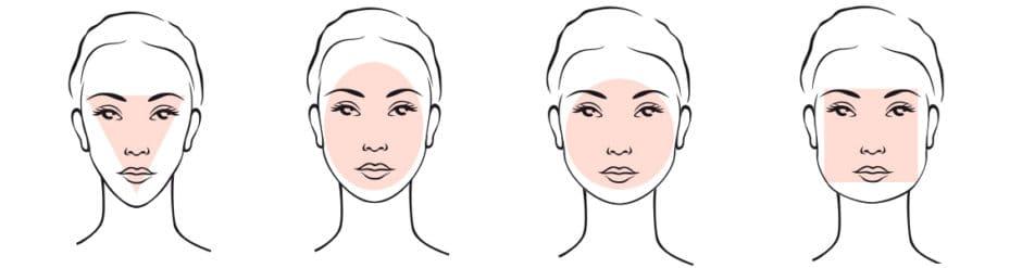 Frisure til forskellige ansigtsformer